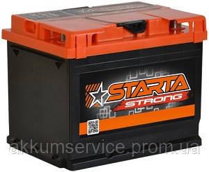 Аккумулятор автомобильный Starta Strong (Premium) 62AH L+ 600А