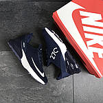 Мужские кроссовки Nike Air Max 270 (темно-синие) , фото 6