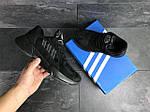 Мужские кроссовки Adidas Yung (черные), фото 2