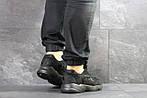 Мужские кроссовки Adidas Yung (черные), фото 3