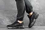 Мужские кроссовки Adidas Yung (черные), фото 5
