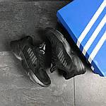 Мужские кроссовки Adidas Yung (черные), фото 6