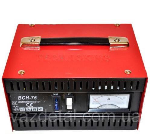 Зарядний пристрій TECHNOKING 6-12V 10A BCH-75