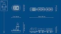 Lego Duplo Грузовой поезд 10875, фото 10