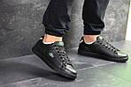 Мужские кроссовки Lacoste (черные) , фото 4