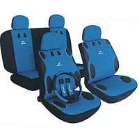 Чехлы на сидения автомобиля MILEX MAMBO синие AG-24017/3