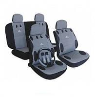 Чехлы на сидения автомобиля MILEX MAMBO серые AG-24017