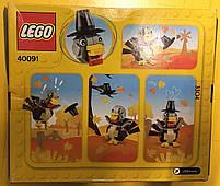 Lego Iconic Индейка на День Благодарения 40091, фото 6