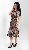 Стильное летнее платье миди, фото 1