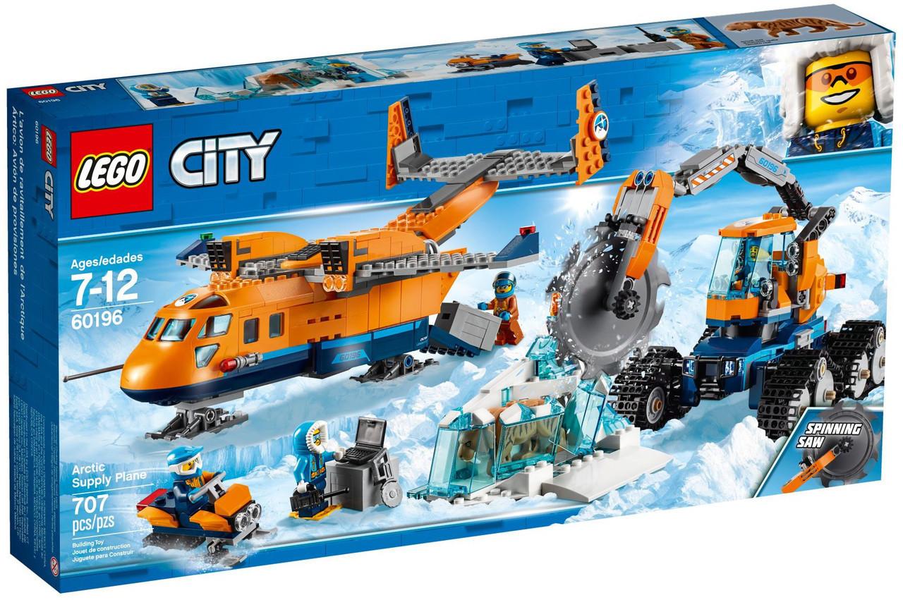Lego City Арктическая экспедиция: Грузовой самолёт 60196