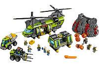 Lego City Грузовой Вертолёт Исследователей Вулканов 60125, фото 2