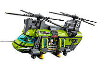 Lego City Грузовой Вертолёт Исследователей Вулканов 60125, фото 3