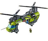 Lego City Грузовой Вертолёт Исследователей Вулканов 60125, фото 4