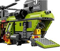 Lego City Грузовой Вертолёт Исследователей Вулканов 60125, фото 5