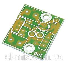 Печатная плата - регулятор мощности до 1КВт PCB216.4 (DB-3, BT136)  Радио-Кит