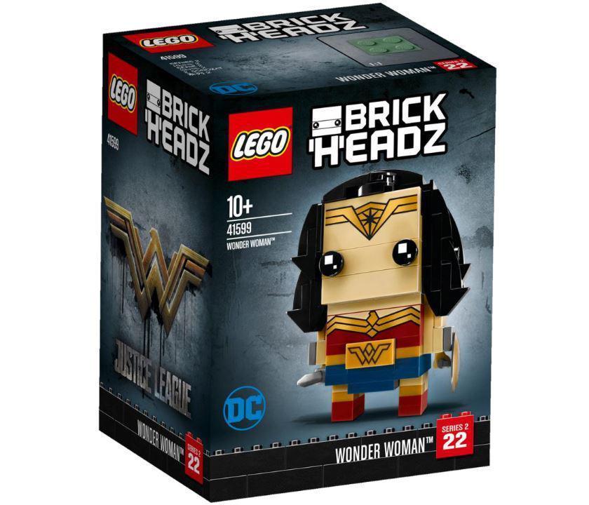 Lego BrickHeadz Чудо-женщина 41599
