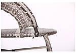 Кресло Catalina (Каталина) ротанг серый, фото 9