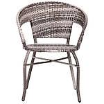 Кресло Catalina (Каталина) ротанг серый, фото 3