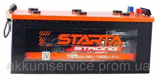 Аккумулятор автомобильный Starta Strong (Premium) 195AH 1300А
