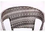 Кресло Catalina (Каталина) ротанг серый, фото 6