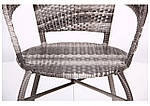 Кресло Catalina (Каталина) ротанг серый, фото 5