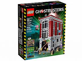 Lego Ghostbusters Штаб-квартира Охотников за привидениями 75827