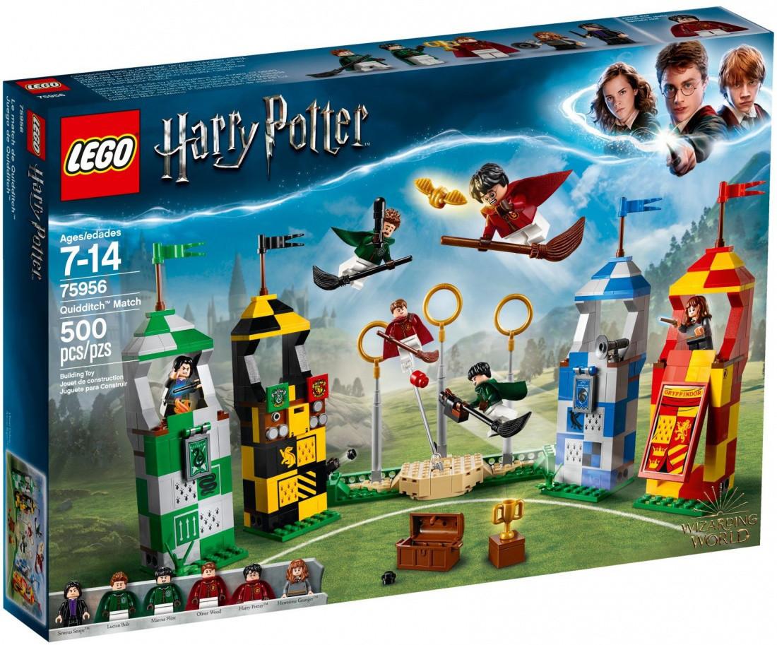 Lego Harry Potter Матч по Квиддичу 75956