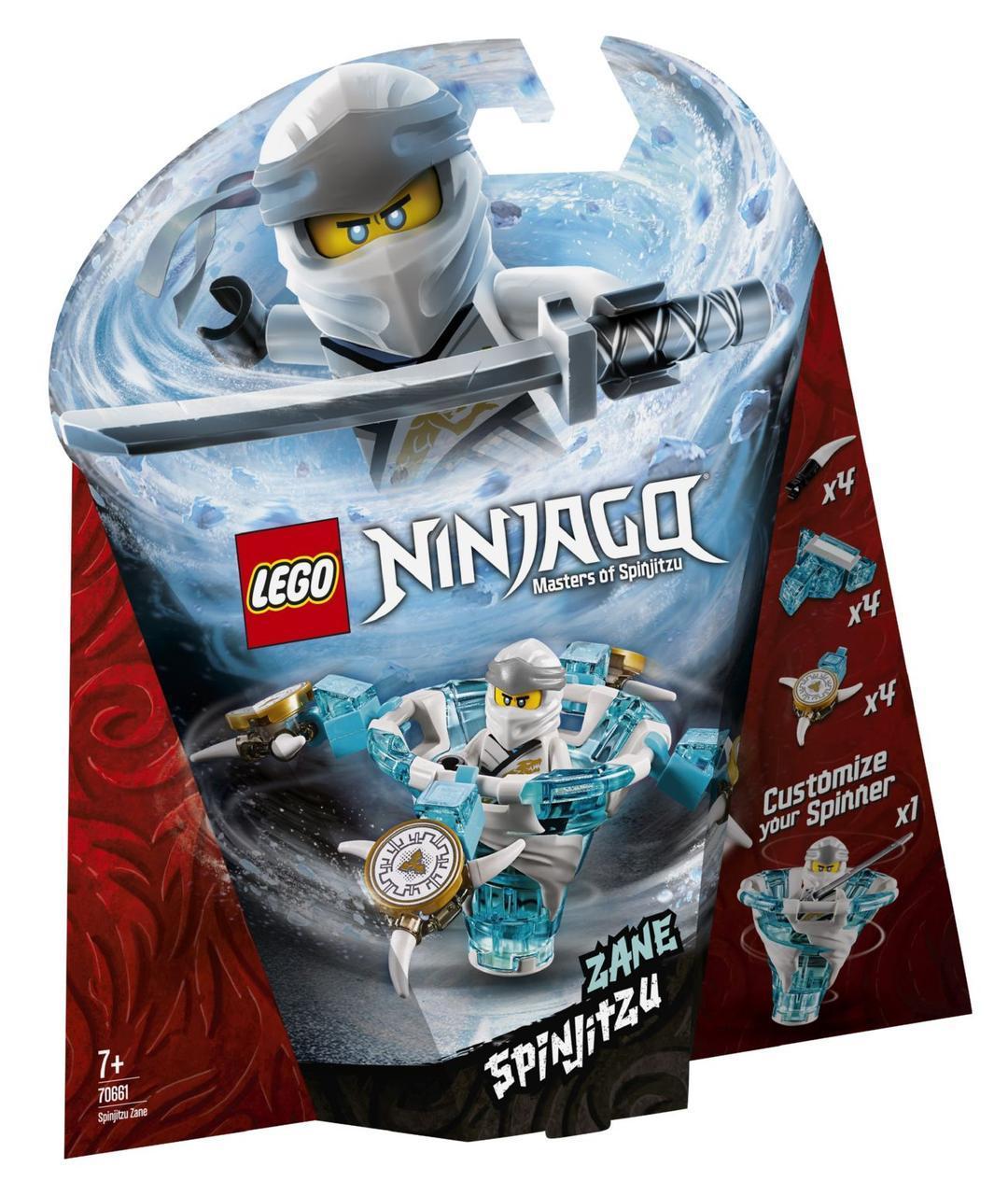 Lego Ninjago Зейн: мастер Кружитцу 70661