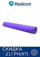 Одноразовая простынь в рулоне фиолетовая MEDICOM Economy 20г/м.кв 80 х 100