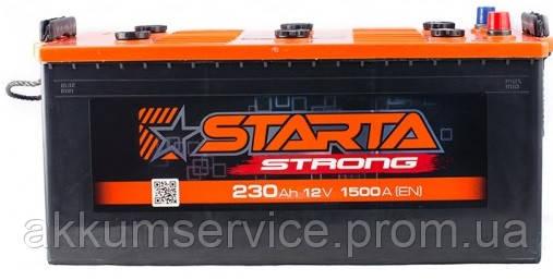 Аккумулятор грузовой Starta Strong (Premium) 230AH 1500А
