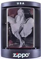 Зажигалка бензиновая Zippo Marilyn Monroe №4220-4,качественные зажигалки, оригинальные подарки