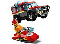 Lego City Пожарное депо 60215, фото 6