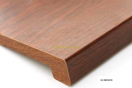 Верзалит дерев'яний підвіконня (Німеччина) колір 151 Меранті ширина 100 мм