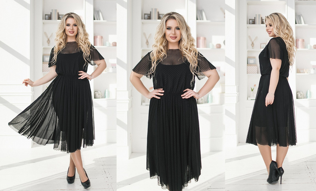 Платье женское 2074ки батал