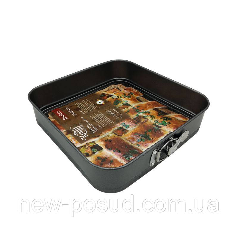 Форма для выпечки квадратная разъёмная Krauff 24*24*7 см 26-203-061