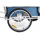 Велопричеп двомісний Jogger Blue амортизований, фото 4
