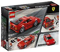 Lego Speed Champions Автомобиль Ferrari F40 Competizione 75890, фото 2