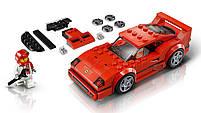 Lego Speed Champions Автомобиль Ferrari F40 Competizione 75890, фото 4