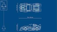 Lego Speed Champions Автомобиль Ferrari F40 Competizione 75890, фото 8