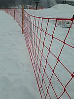 Загороджувальна сітка для лижного курорту Харківська Швейцарія