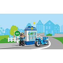 Lego Duplo Полицейский мотоцикл 10900, фото 10