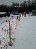 Заградительная сетка для лыжного курорта Харьковская Щвейцария