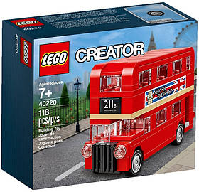 Lego Iconic Лондонский автобус 40220
