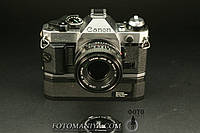 Canon AE-1 Program Canon nFD 50mm f1,8  + winder  , фото 1