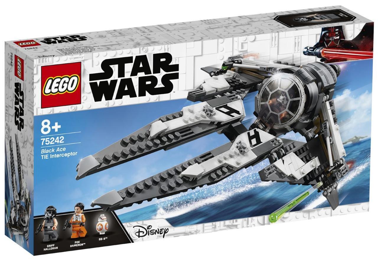Lego Star Wars Перехватчик СИД Чёрного аса 75242