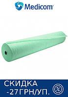 Одноразовая простынь в рулоне зеленая MEDICOM Standart 25г/м.кв 80 х 100