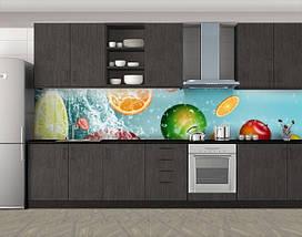 Пленка для кухонного фартука с фотопечатью, 60 х 300 см. С защитной ламинацией, фото 3