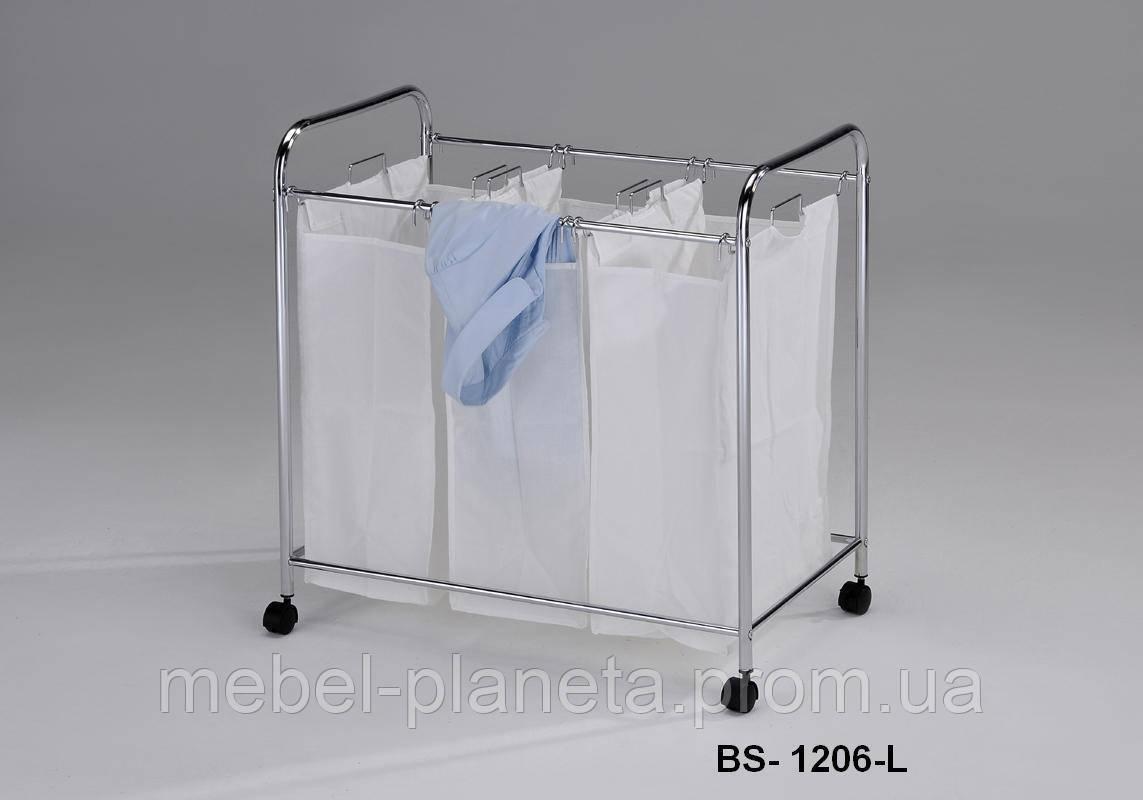 Корзина для белья BS-1206-L Onder Metal