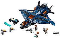 Lego Super Heroes Модернизированный квинджет Мстителей 76126, фото 3