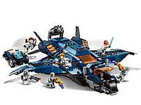 Lego Super Heroes Модернизированный квинджет Мстителей 76126, фото 6